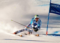 ASPEN, CO - NOV 27: Stefan Luitz at the FIS NORAM Giant Slalom i