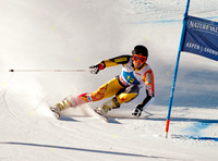 ASPEN, CO - NOV 27: Dustin Cook at the FIS NORAM Giant Slalom in