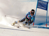 ASPEN, CO - NOV 27: Warner Nickerson at the FIS NORAM Giant Slal
