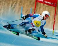 ASPEN, CO - NOV 29: Anna Marno at the FIS NORAM Giant Slalom in