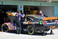 MIAMI, FL - Nov 14: FedEx Team at theNascar Sprint Cup Ford Ecob
