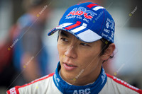 LONG BEACH, CA - APRIL 21:Takuma Sato wins the Izod Indycar Gran