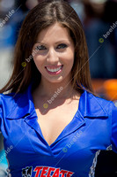 LONG BEACH, CA - APRIL 21:Miss Tecate Light at the  Izod Indycar