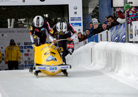 PARK CITY, UT - JAN 15: Team Germany II at the BMW IBSF Women Bo