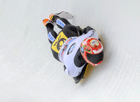 PARK CITY, UT - JAN 16: Michael Zachrau at the BMW IBSF Skeleton