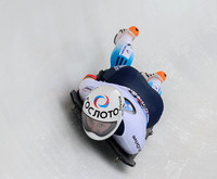 PARK CITY, UT - JAN 16: Renata Khuzina at the BMW IBSF Skeleton