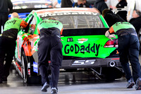 LAS VEGAS, NV - March 06: Danica Patrick's car at inspection at