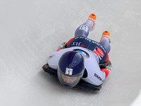 PARK CITY, UT - JAN 16: Donna Creighton at the BMW IBSF Skeleton