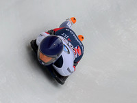 PARK CITY, UT - JAN 16: Laura Deas at the BMW IBSF Skeleton Worl