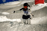 DEER VALLEY, UT: Hedvig Wessel at the FIS Freestyle World Cup Mo