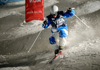 DEER VALLEY, UT: Myung-Joon Seo at the FIS Freestyle World Cup M