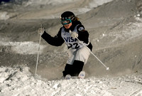 DEER VALLEY, UT: Olivia Giaccio at the FIS Freestyle World Cup M