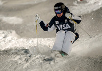 DEER VALLEY, UT: Jimi Salonen at the FIS Freestyle World Cup Mog