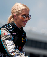 CHARLOTTE, NC - MAY 26:    Angela Cope at the Nascar History 300
