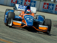 LONG BEACH, CA - APR 19: Izod Indycar GP in Long Beach, CA on Ap