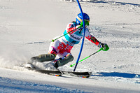 Aspen, CO - Nov 27: Veronika Zuzulova at the Audi Quattro FIS World Cup Slalom race in Aspen, CO on Nov 27, 2011