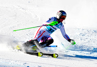 Aspen, CO - Nov 27: Nicole Hosp at the Audi Quattro FIS World Cup Slalom race in Aspen, CO on Nov 27, 2011