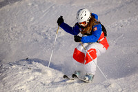 DEER VALLEY, UT - January 10: Lea Bouard at the FIS VISA FREESTY