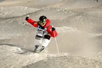 DEER VALLEY, UT - January 09: Rikuya Tanaka at the FIS VISA FREE