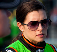 CHARLOTTE, NC - MAY 24: Danica Patrick at the Nascar Coca Cola 6