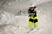 DEER VALLEY, UT - January 10: Britteny Cox at the FIS VISA FREES