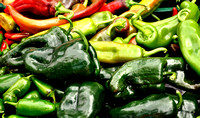 Crested Butte Farmers Market - green peppers