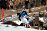 Aspen, CO - Nov 27: Christina Geiger at the Audi Quattro FIS World Cup Slalom race in Aspen, CO on Nov 27, 2011