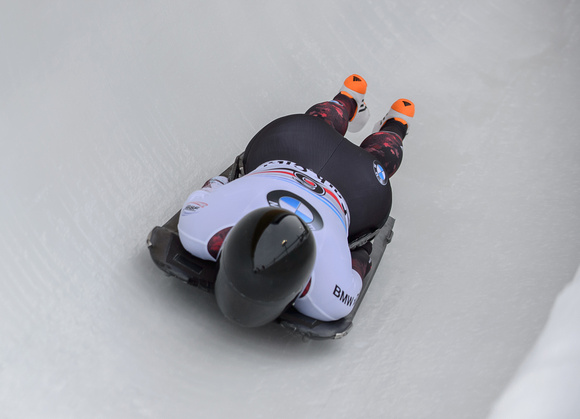 PARK CITY, UT - JAN 16: Elisabeth Vathje at the BMW IBSF Skeleto