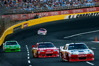 CHARLOTTE, NC - MAY 27:  Jimmie Johnson, Tony Stewart and Kasey