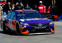 LAS VEGAS, NV - MAR 04:  Denny Hamlin at the NASCAR Monster Ener