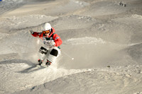 DEER VALLEY, UT - January 09: Sora Yoshikawa at the FIS VISA FRE