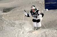 DEER VALLEY, UT - January 10: Maxime Dufour-Lapointe at the FIS