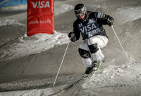 DEER VALLEY, UT: Troy Murphy at the FIS Freestyle World Cup Mogu