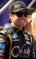 FONTANA, CA - MAR 22: Blake Koch at the Nascar Nationwide Treatm