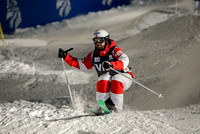 DEER VALLEY, UT: Philippe Marquis at the FIS Freestyle World Cup