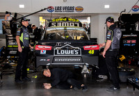 LAS VEGAS, NV - MAR 04:  Jimmie Johnson at the NASCAR Monster En