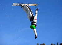 DEER VALLEY, UT - January 08: Fanyu Kong at the FIS VISA FREESTY