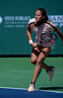 INDIAN WELLS, CA - MAR 05-18: Daria Kasatkina playing the title